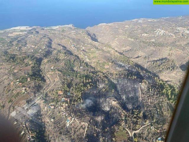 El incendio de Tijarafe ya se encuentra estabilizado