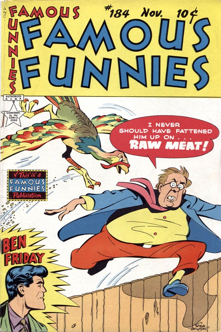 Read online Famous Funnies comic -  Issue #184 - 1