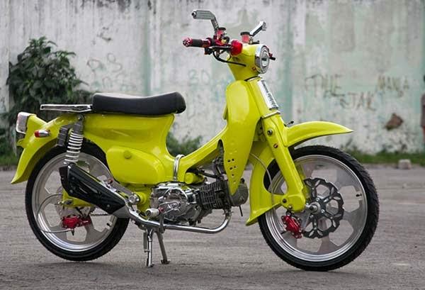 Koleksi Gambar Modifikasi Honda 70 Klasik Terbaik 2014