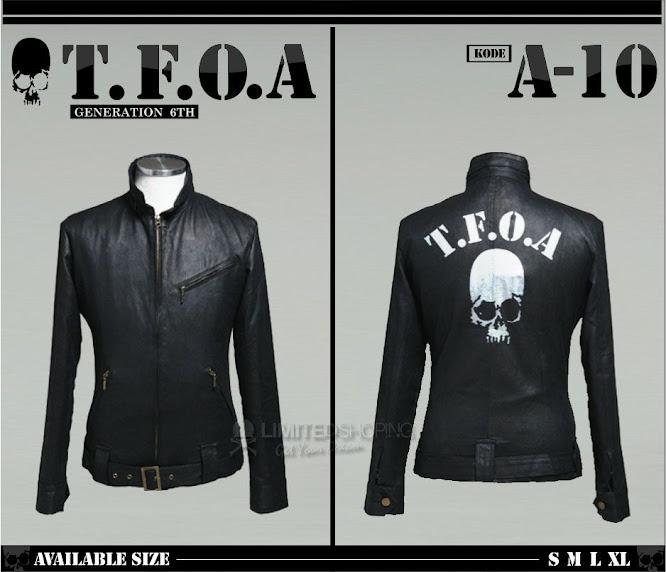 limited shoping jaket kulit crows zero tfoa generation 6th a10
