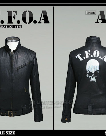 limited shoping jaket kulit crows zero tfoa generation 6th a10