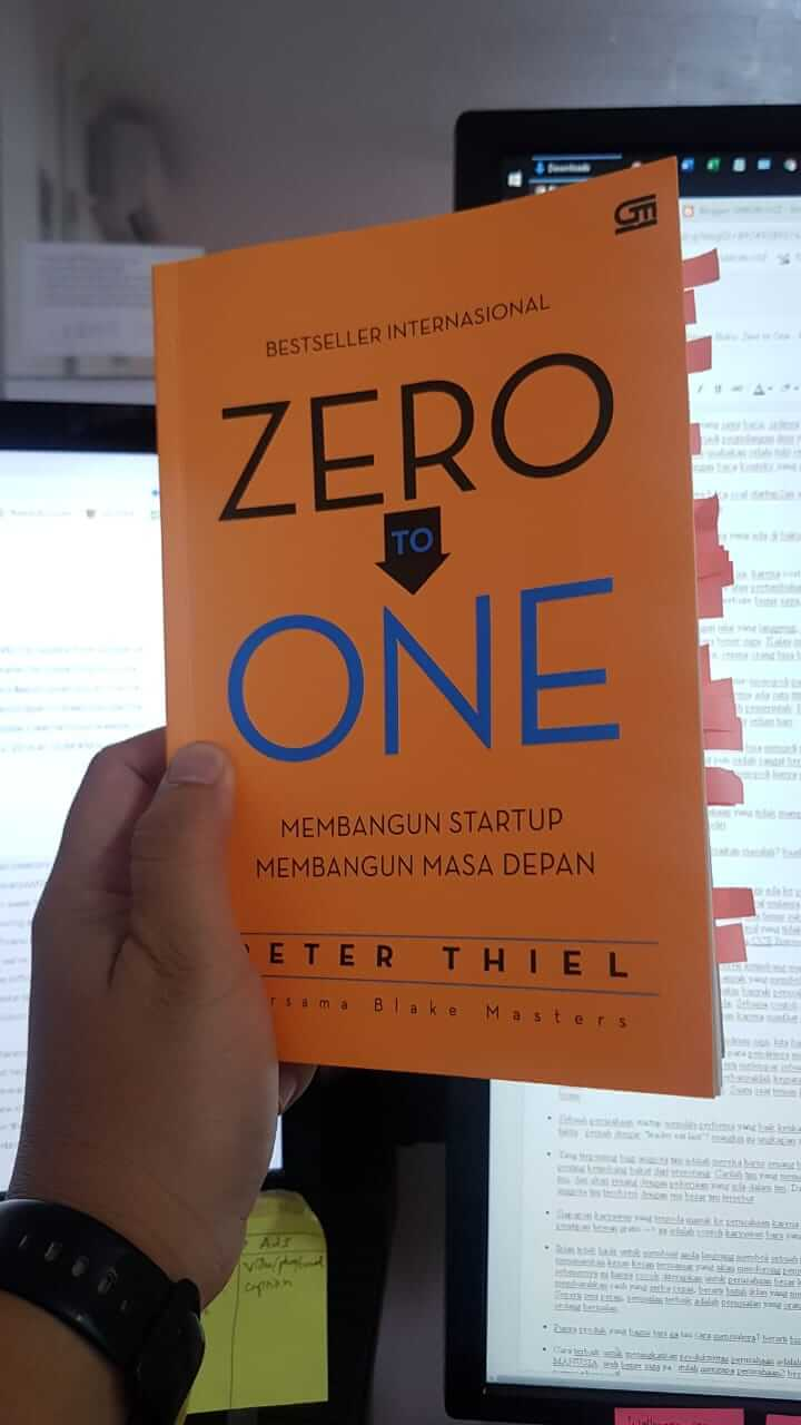 buku Zero to One Peter Thiel