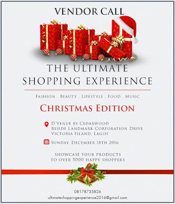 b238d505580 Register to become a vendor at The Ultimate Shopping Experience  Christmas  Edition