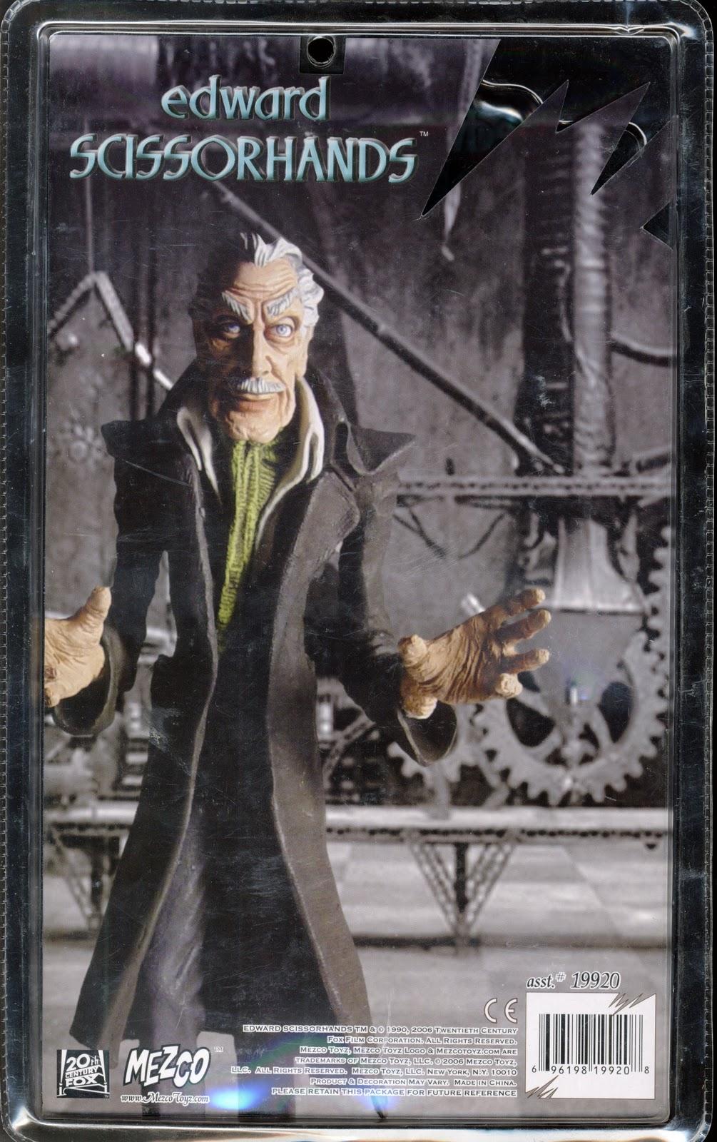 Raging Nerdgasm Edward Scissorhands The Professor Roto