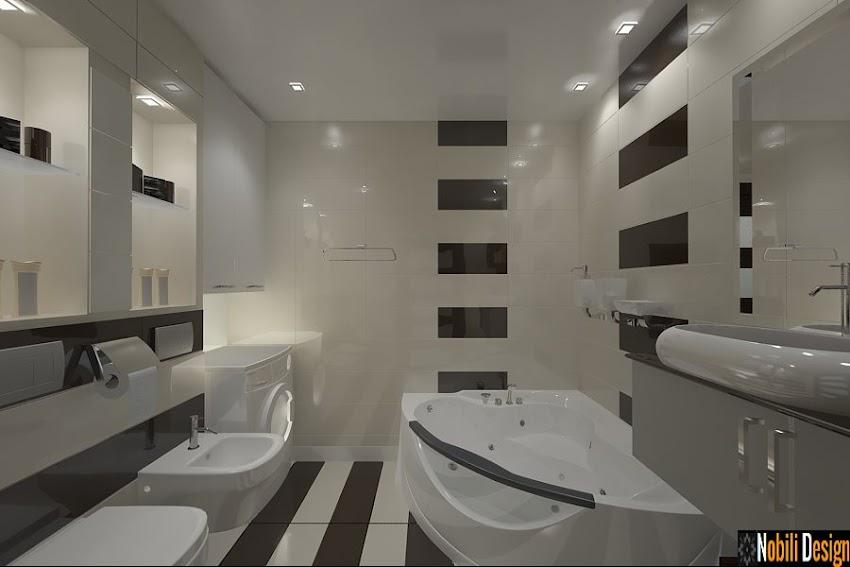 Design Interior - Arhitect Constanta - Design interior baie moderna casa Constanta