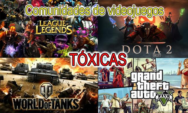Comunidades tóxicas de videojuegos