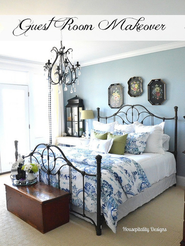 Treasure Hunt Thursday-Southern Hospitality- Guest Bedroom- From My Front Porch To Yours- Weekly Blog Link Up Party