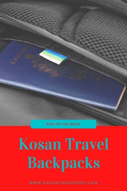 Kosan travel backpack review