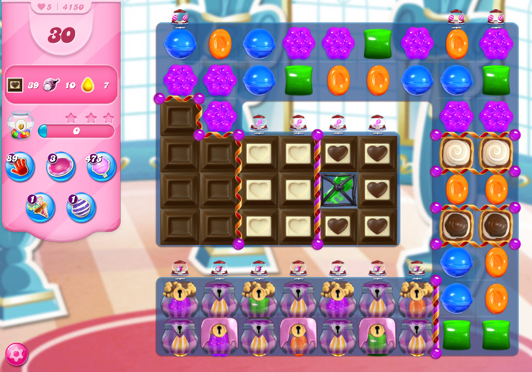 Candy Crush Saga level 4150