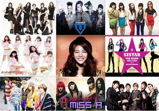 10 artis kpop paling terkenal di amerika