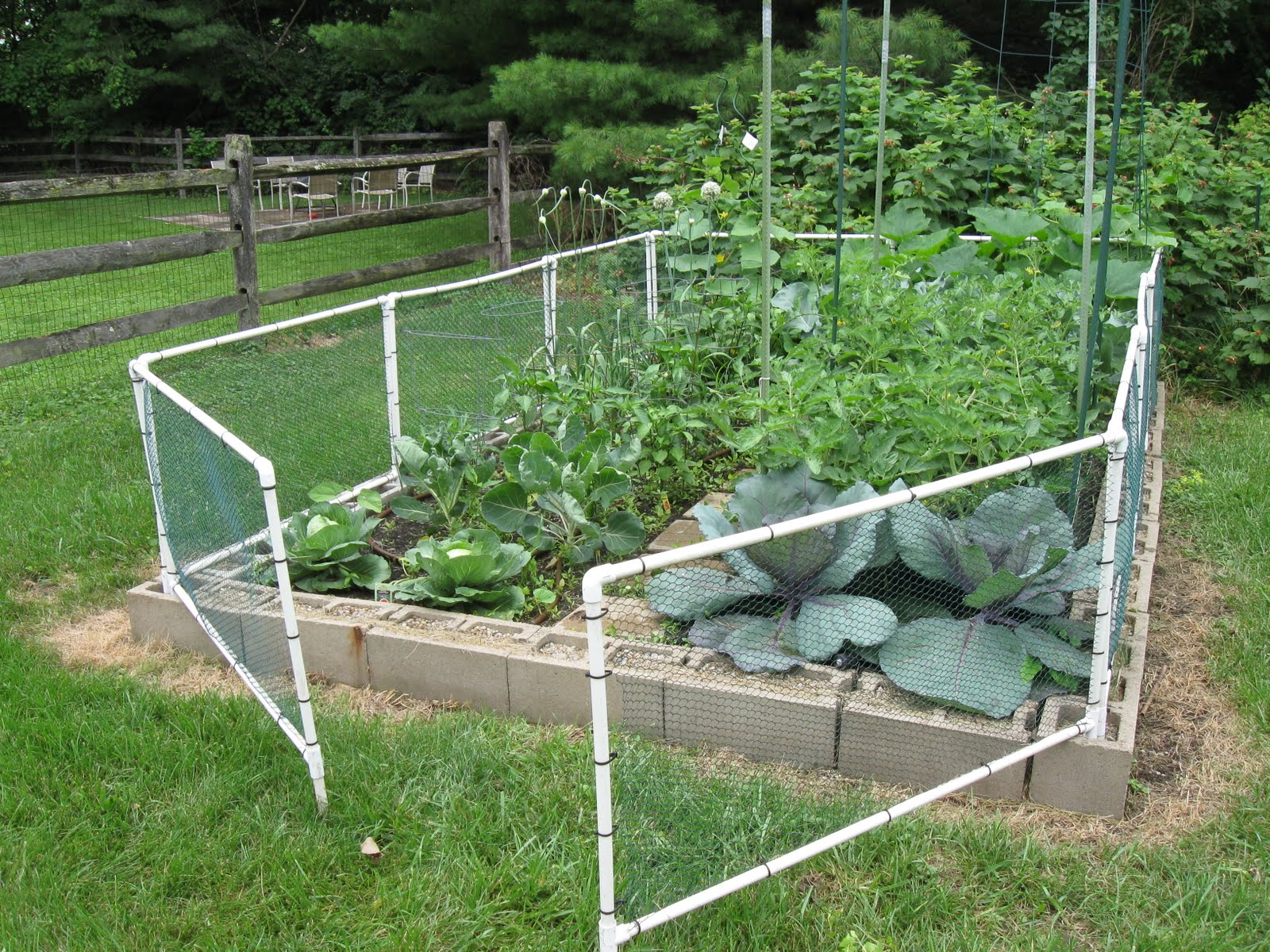 One Hoosiers View How to build a garden