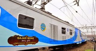 Jadwal dan Harga Tiket Kereta Api Ekonomi AC Gajah Wong