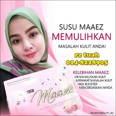 susu maaez belleza promosi murah original