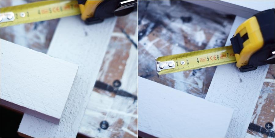Blog + Fotografie by it's me! - fim.works - DIY Holzfußmatte, Holzleisten, Maßband