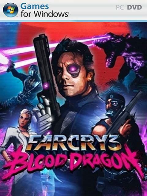 تحميل لعبة Far Cry 3 Blood Dragon مضغوطة برابط واحد مباشر + تورنت كاملة مجانا