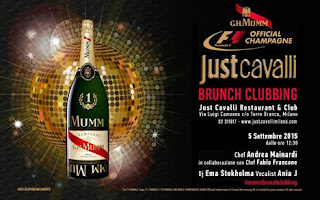 "SATURDAY 5 SEPTEMBER 2015 ""G.H. MUMM PARTY BRUNCH"""