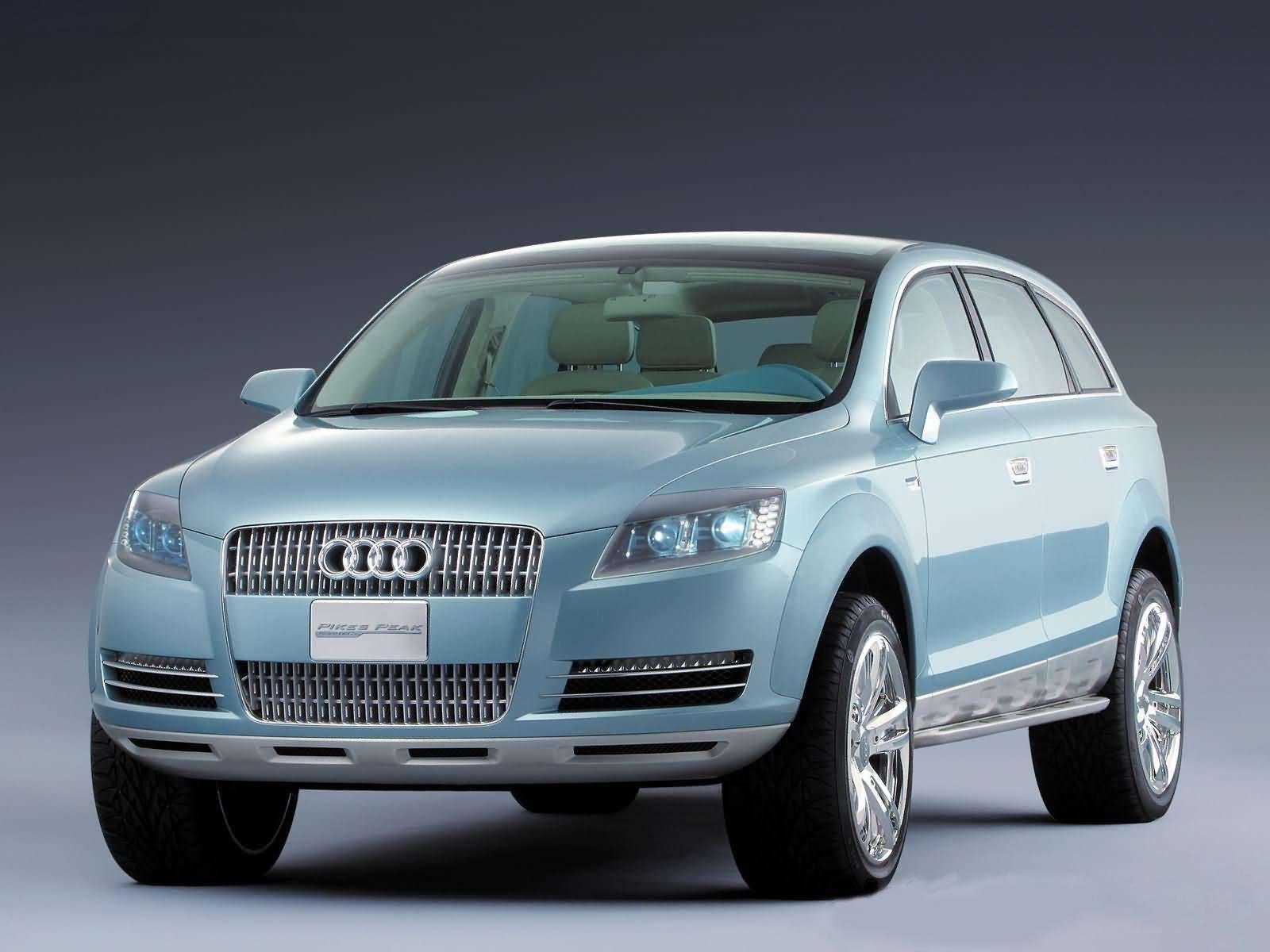 Automotive Database Audi Pikes Peak quattro