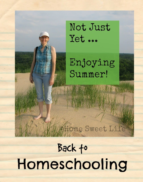 Back to Homeschooling Blog Hop