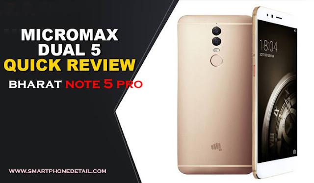 Micromax Bharat note 5 Pro in comparison to redmi 5