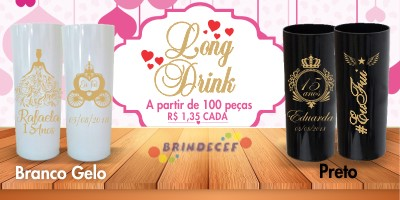 Copos Long Drink