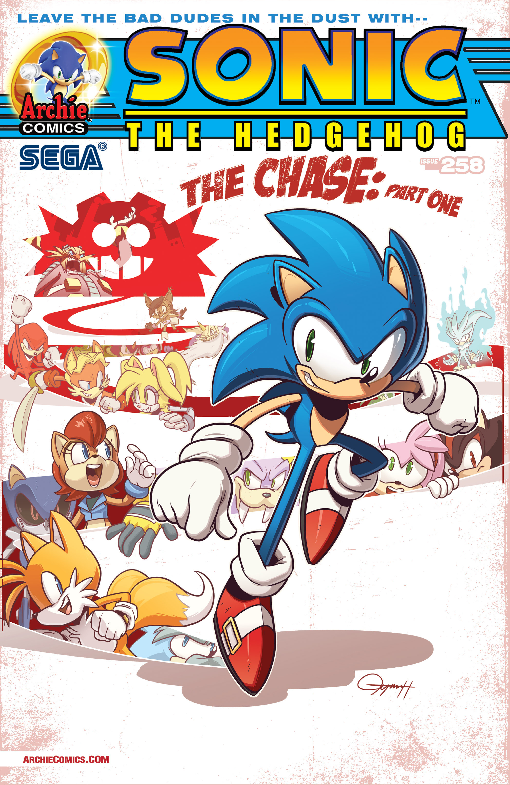 Read online Sonic The Hedgehog comic -  Issue #258 - 2