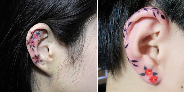 Helix Tattoo Trend Is Taking Over Instagram, And These 10+ Pics Will Make You Want To Get One Too