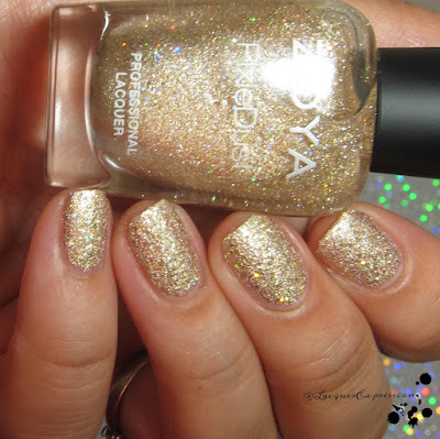 nail polish swatch of Levi by zoya