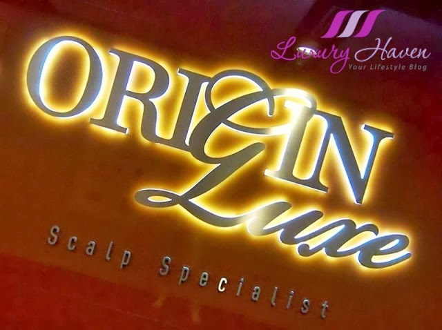 origin luxe scalp treatment services at chinatown