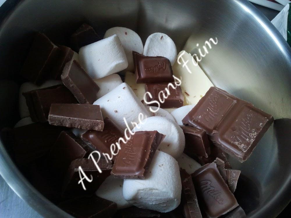 Mousse au chocolat rapide sans œuf (pas à pas en photos)
