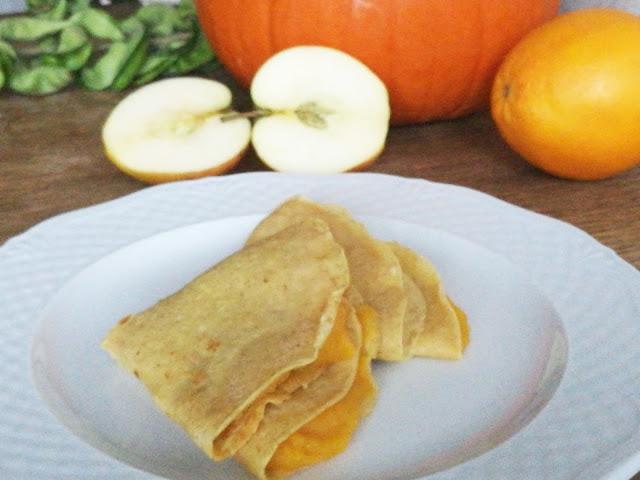 dynia z pomarańczą