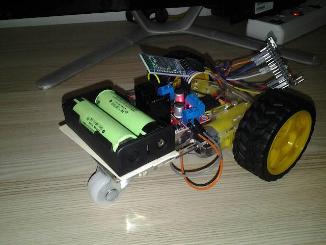 โปรเจครถบังคับ Arduino Nano 3.0 ควบคุมด้วย บลูทูธ HC-06