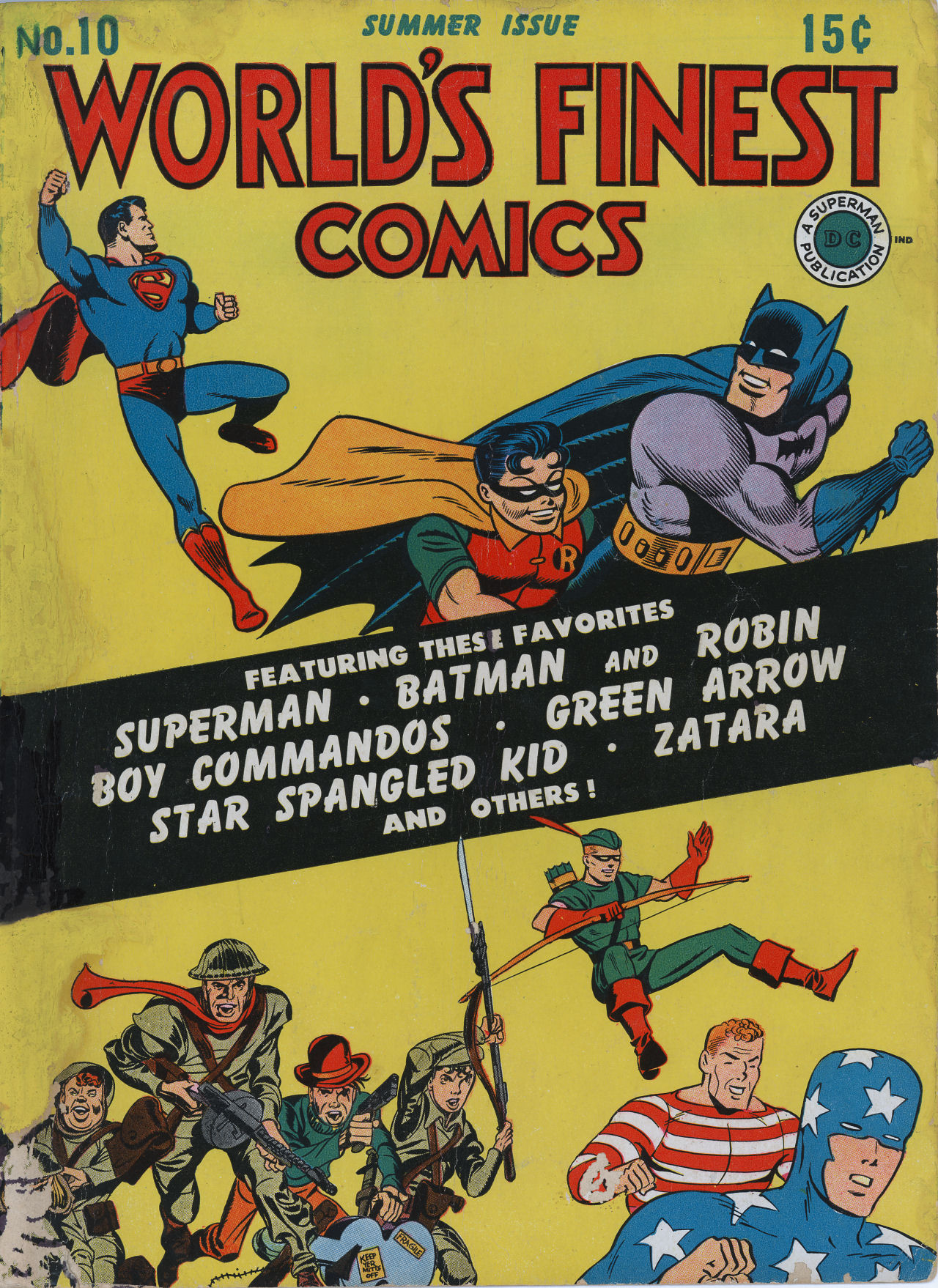 Read online World's Finest Comics comic -  Issue #10 - 1