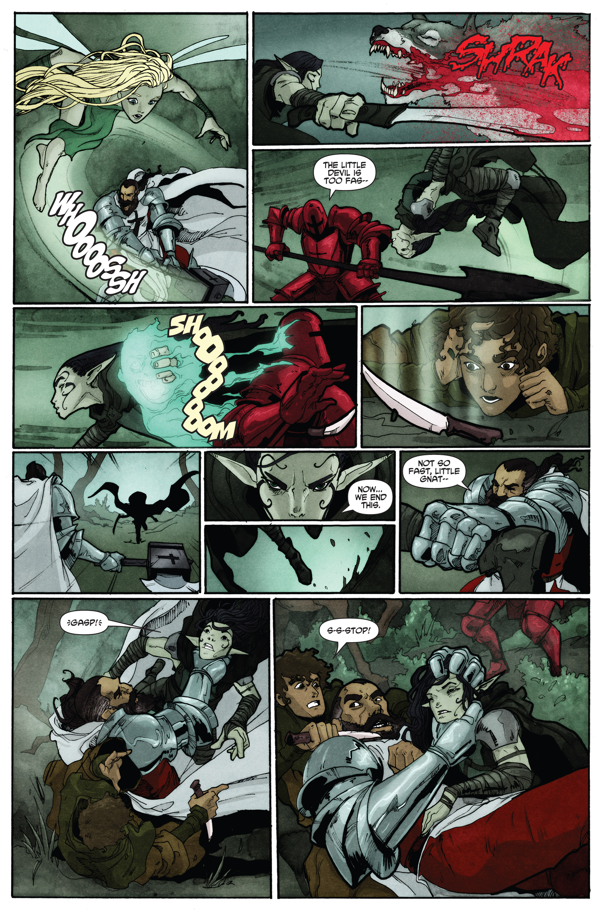Read online Plague comic -  Issue #2 - 17