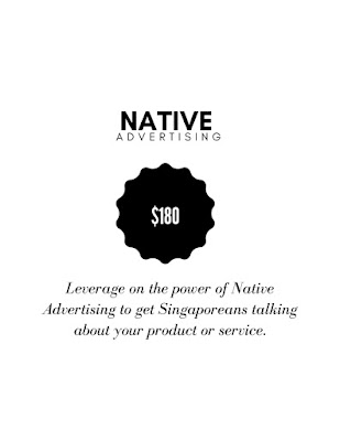 native advertising singapore social media