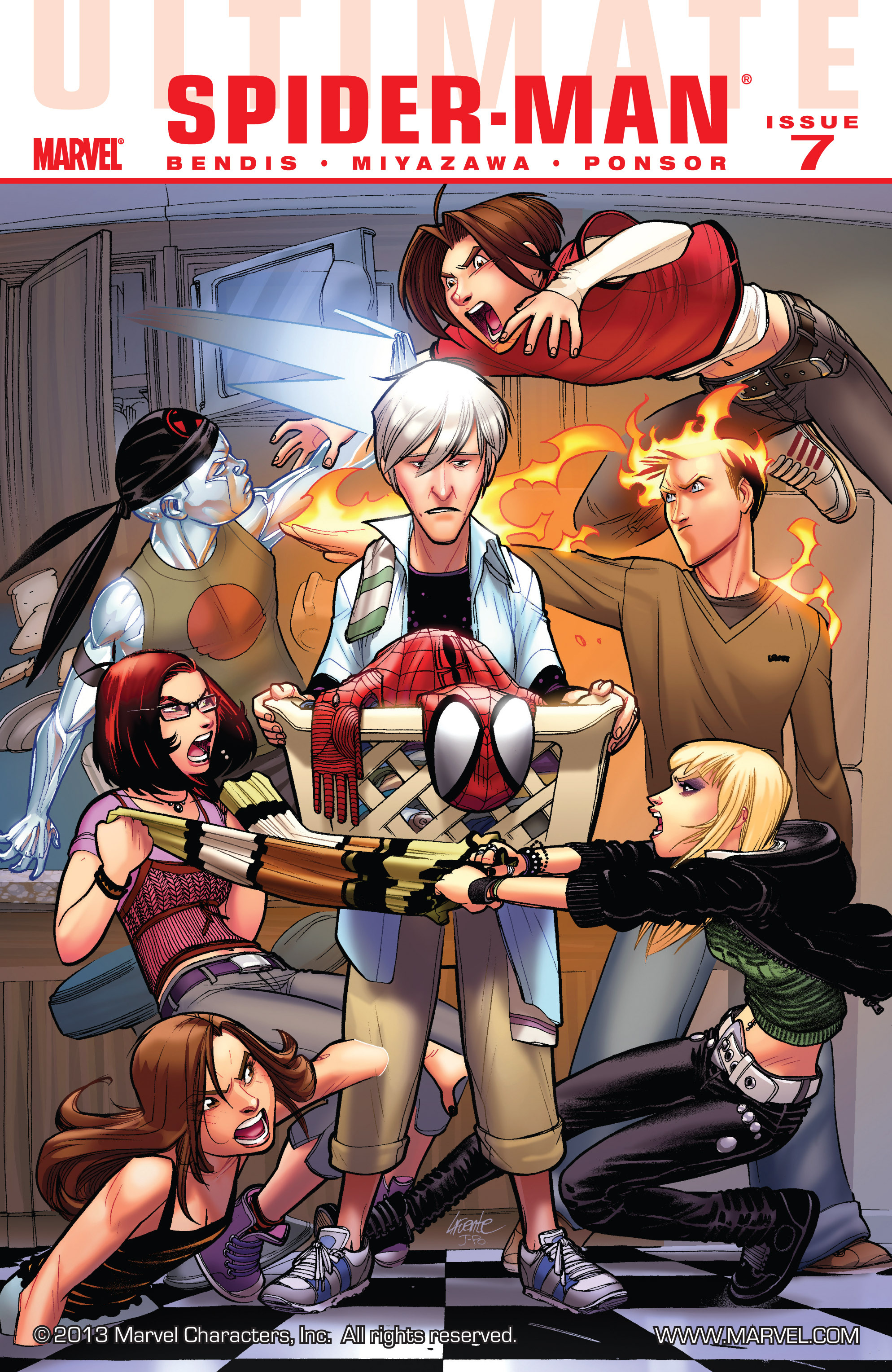 Read online Ultimate Spider-Man (2009) comic -  Issue #7 - 1