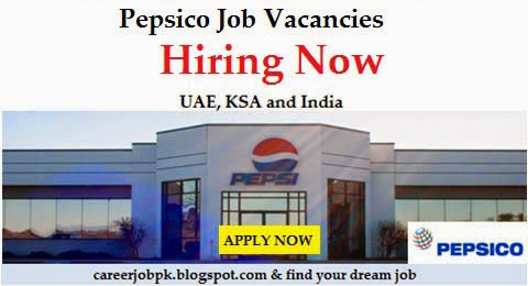 Latest Jobs In PEPSICO UAE, India & Singapore