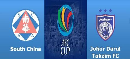live streaming Keputusan South China Vs JDT AFC Cup 13 September 2016
