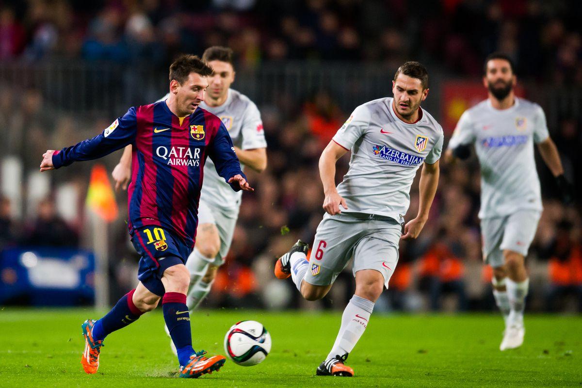 แทงบอล ไฮไลท์ เหตุการณ์การแข่งขันระหว่าง บาร์เซโลน่า vs แอตเลติโก มาดริด