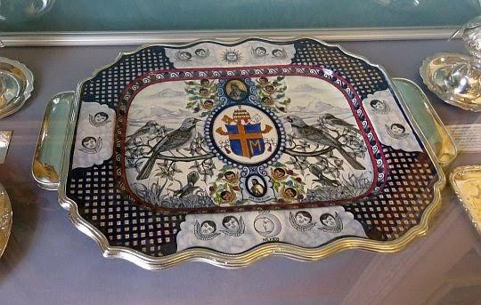 Taca - dar Kawalerów Zakonu Maltańskiego z Meksyku