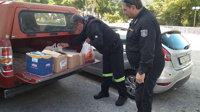 Προσφορά αγάπης από τους Πυροσβέστες στο Συσσίτιο της Ευαγγελίστριας στο Ναύπλιο