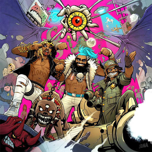Flatbush Zombies - 3001: A Laced Odyssey Cover