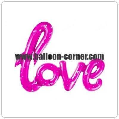 Balon Foil Love Letter Latin Printed Minnie Mouse