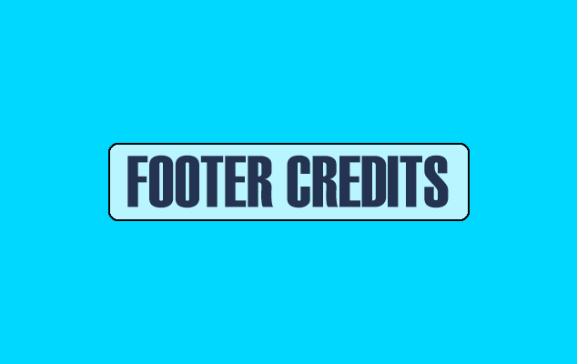 Remove Footer Credits in Blogger Templates without Redirecting