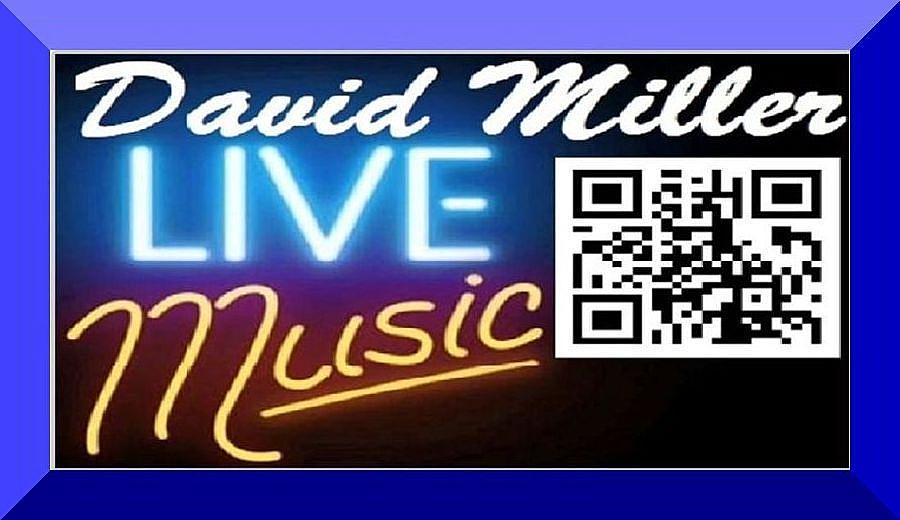 David Miller Live Music Banner-Logo