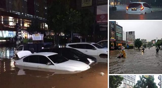 jakarta kembali banjir besar
