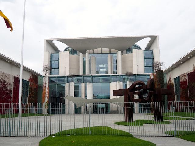 Chancellery building, Berlin, Germany