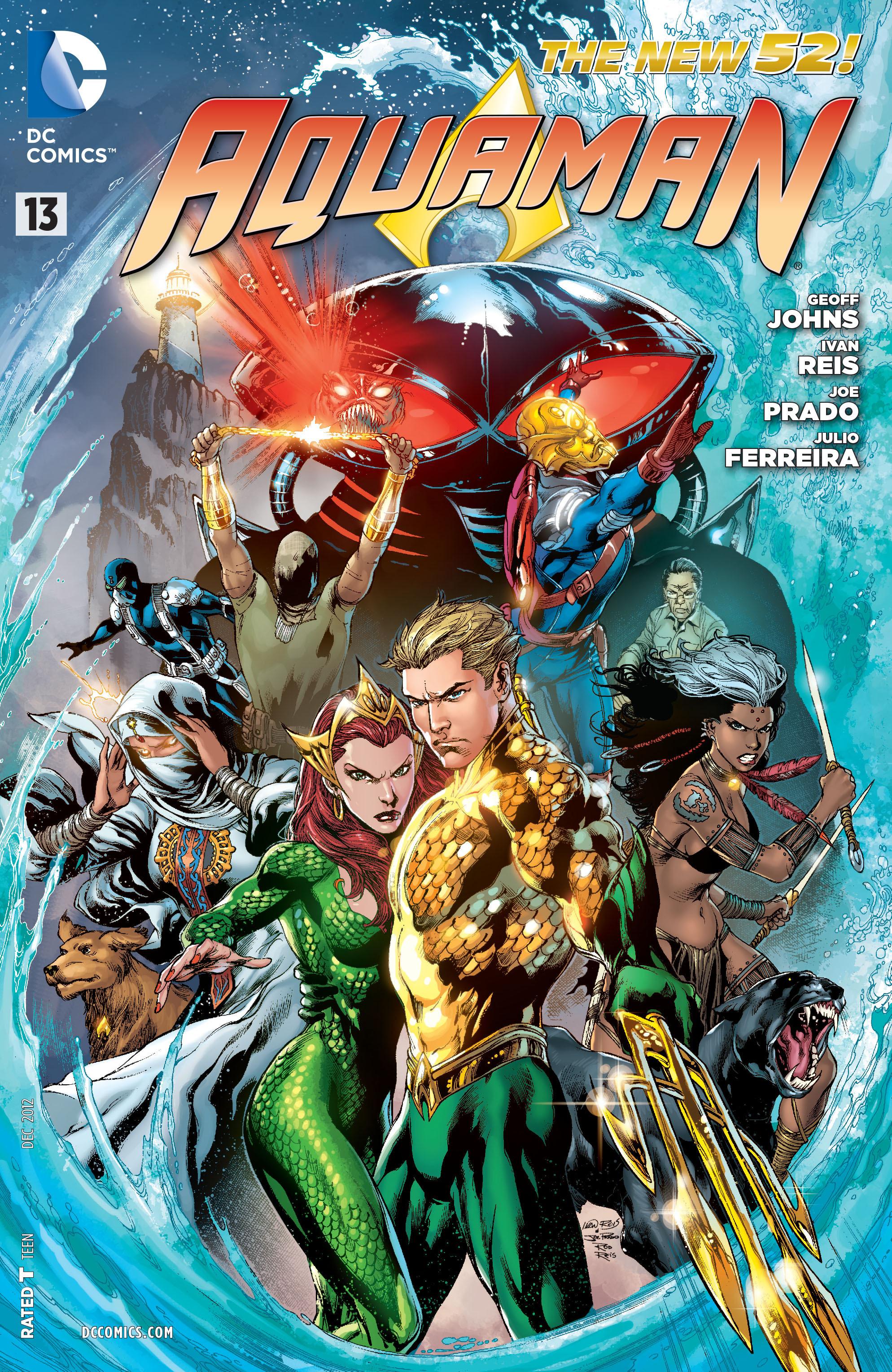 Read online Aquaman (2011) comic -  Issue #13 - 1