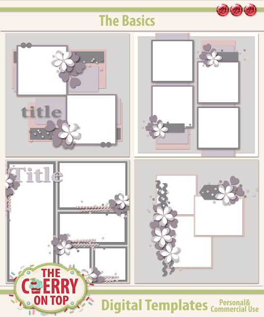 The Basics Scrapbooking Templates