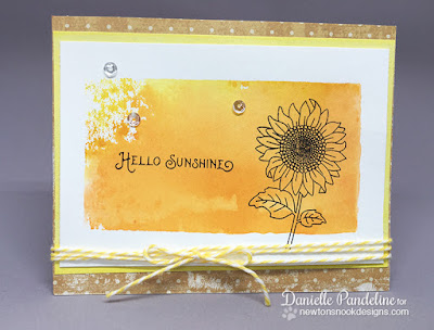 Flower Garden | Newtons Nook Designs | Card Created by Danielle Pandeline