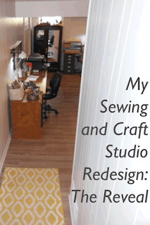 My Sewing and Craft Studio Redesign: The Reveal